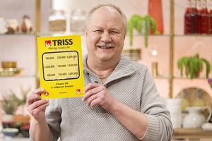 Leif Stadling från TV4 vann 100 000 kronor i Nyhetsmorgon på fredagen.
