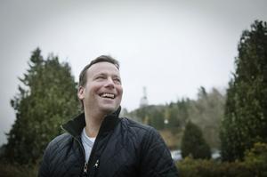 Brobergs tränare Svenne Olsson.