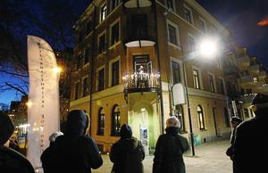 Levande julkalender hålls varje år i Södertälje. Foto: Mats Andersson