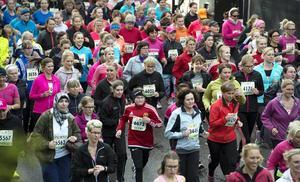 Kring 5000 löpare var anmälda till Vårruset 2015.