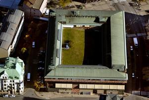 Medborgarhuset, Örebro. Sevärd arkitektur. Arkivfoto: Håkan Risberg