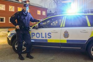 Christer Florin vid polisen i Härjedalen, ansvar för arbetet med Grannsamverkan i  kommunen.