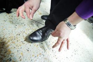 Välputsade skor hör hemma på en dansbandscen.