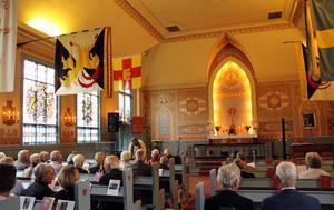 100-åringen firades med en jubileumshögmässa 21 augusti.
