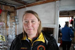 Emma Andersson, ordförande i Hofors KK.