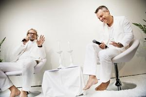 Show. Ljust och fräscht med Fredrik Lindström och Henrik Schyffert ges två gånger i Västerås. Första gången nu på fredag.