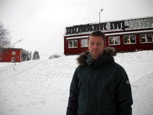 Joakim Jansson, sektionschef på Migrationsverket, menar att de gärna hade hyrt ytterligare ett år i Trängslet.