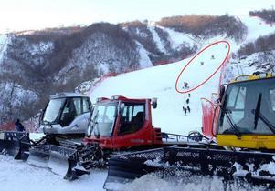 Snökanonerna på bilderna från skidorten Masik har identifierats vara från den jämtländska tillverkaren Areco.