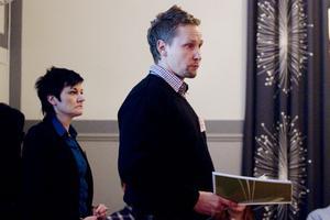 Jenny Norén och Patrik Roos svarade på frågor om väg 56:s framtid.
