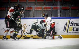 En situation där det verkar ha gått snett för Petter Runesson i ÖIK.