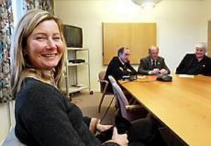 Dressyrtränaren Eva Åhlander från Högbo får dela årets Prinsessan Madeleines stipendium på 25.000 kronor.Foto: Nick Blackmon