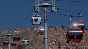 I miljonstaden La Paz i Bolivia satsas det på linbanor. En inspiration menar Örebro kommun.