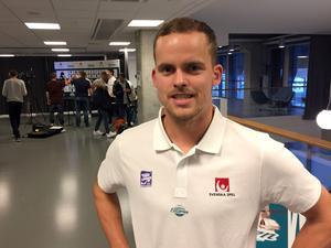 Martin Johansson, stupsäker libero i Villa Lidköping.