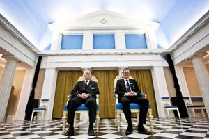 Stefan Nilsson och Fredrik Högbom tycker båda två att frimureriet har gjort dem till bättre människor.