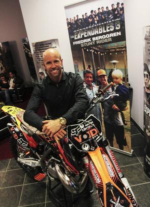 Motorcross-åkaren Fredrik