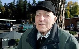 Harry Broberg, Avesta:-- Jag har alltid blivit mycket vänligt bemött, både i tandvården och den vanliga vården.