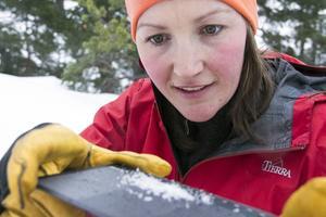 Karin Trolin har blick för snö.