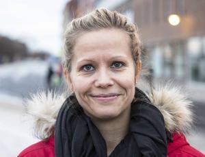 Malin Andersson, 39 år, skadereglerare, Sundsvall:   – Nej, inte just nu, men om vi inte tar tag i det så kommer det att gå illa.