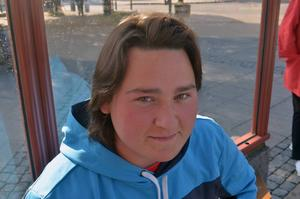 WIlliam Melin, 18 år, Ljungaverk.   – Det är första gången jag får rösta.