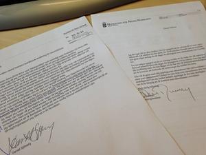 Arbetarbladet har tagit del av mejlkonversationen mellan hovrätten och Daniel Sjöberg.