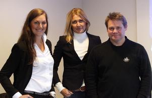 Sara Carlemår, Maria Wilén och Kjell-Åke Andersson är tre av personerna bakom projektet The Game Changer.