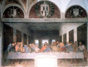 "Leonardo da Vincis ""Nattvarden"". Foto: AP/Scanpix"
