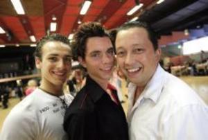 De holländska dansarna och koreograferna Daniel Trepat tillsammans med José Miguel och Roy Verdank gästade Eventet och gav instruktioner till nya danser för deltagarna.