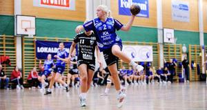 Ida Skoglund från Ljusne. Här i Arbråtröjan som hon spelade med innan flytten till Hellton och Karlstad hösten 2010.