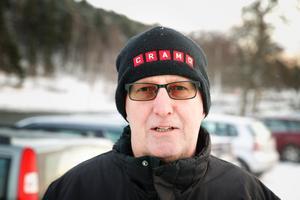 Åke Andersson, 65+, pensionär, parkeringen vid Gamla Flickskolan: – Det beror på vart jag ska. Men närheten brukar vara viktigast. Frun brukar parkera vid Tom Tit.