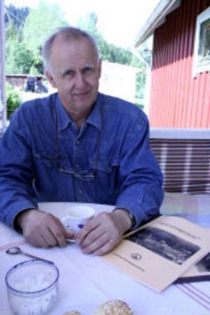 Ola Ulander har lagt ner stor möda och tid för att kunna skildra Edstabäcken före, efter och under katastrofen 1919.