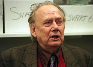 Lars Forssell var en central person i svensk kultur- och nöjesliv under många årtionden. Foto:OlaTorkelsson
