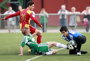 Det gick inte så bra för IK Franke som förlorade med 3-2 mot Örebro-Syrianska på lördagskvällen.