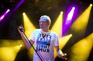 Deep Purples sångare Ian Gillan.