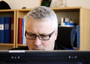 Sydnärkepolisens utredningschef, Leif Andersson, letar efter spaningsuppslag, vittnesuppgifter och andra ingångar för att kunna inleda en förundersökning.BILD: SAMUEL BORG