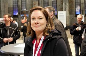 Lena Blad, teknik- och utvecklingschef på Gästrike Vatten, fick många frågor om VA-projektet.