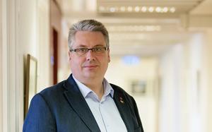 Hans Unander (S) beklagar egna partiets lokala bakslag. Han tror att lokala frågor, som til exempel apoteksstängningen i Särna, påverkat EU-valet lokalt. Fotograf: Timea Hedlund