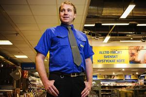 Dalarnas nya dagligvarukung Fredrik Pihlblad har flyttat upp från Helsingborg till Falun. I Skåne var han med och byggde upp Citygross i Hyllinge som blev Sveriges största dagligvaruhandel. Foto:Björn Dalin