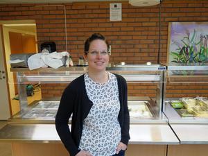 Gunhild Kopka är lärare på Orrvikens skola. Hon leder skolans nya klimatsatsning.