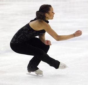 Amanda Faller var tillbaka efter långt skadeuppehåll, och tog hem vinsten i junior B-klassen.