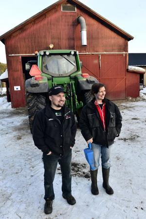 Daniel och Elin Bergström är nöjda med vad de gör och ser sitt arbete som en livsstil.