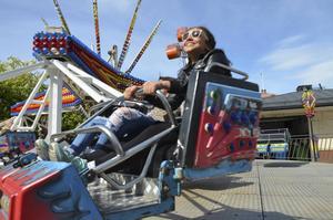 Karusellerna var för många ett populärt inslag på nationaldagen.