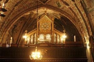 ORÖRD. Fasaden på orgeln är orörd och är densamma som när orgeln byggdes 1891.