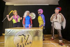 Fyra lokala hjältar från Härjedalen i tevetävling med komplikationer. Vilka det är får ni gissa själva.