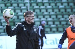 Sören Ericson har även tränat Sundsvalls DFF i Elitettan.