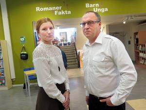Emelie Freiman har varit projektledare för undersökningen. Per-Erik Mårtensson är analytiker.
