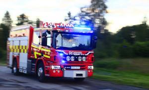 Räddningstjänst, brandbil, genrebilder