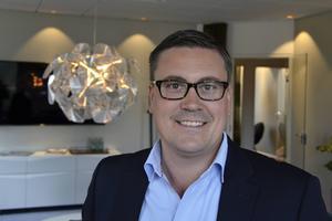 Petter Boström är vd på fastighetsbolaget Peritas.