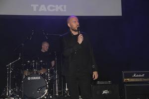Mikael Hyvärinen, från Studiefrämjandet, var med och arrangerade galan på Gasklockorna.
