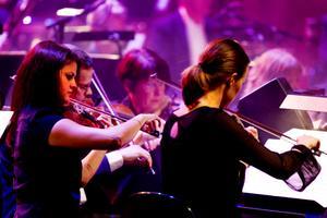 Delar av Sweden Aid Orchestra