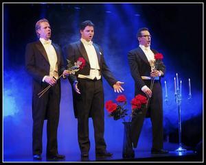 De tre tenorerna i Björborevyn.